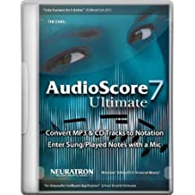 AudioScore Ultimate 7 B-Stock english