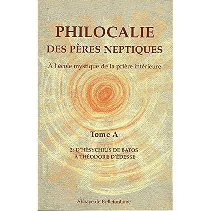 Philocalie des Pères Neptiques T.A2