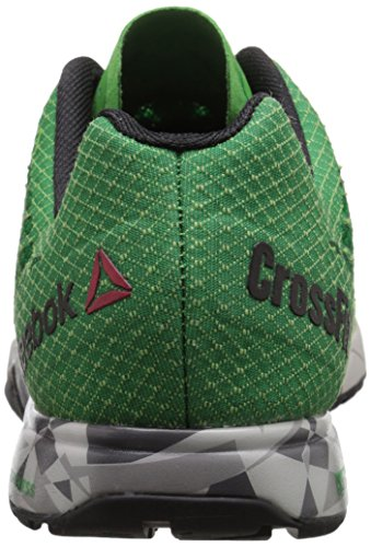 Reebok R Crossfit Nano 5 Trainingsschuh Bright Green/Basil Green/Steel/Tin Grey/Black/Shar