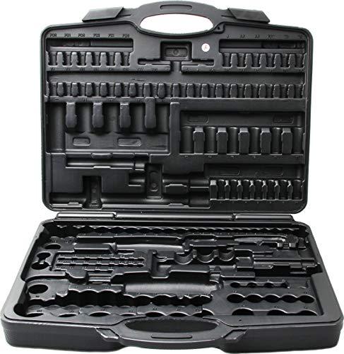 Kraftmann 2291-LEER | Leerkoffer für Art. 2291 Steckschlüssel-Satz | Ersatzkoffer, Kunststoff-Koffer | leer