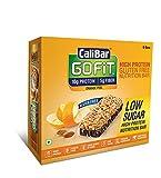 #10: CaliBar GoFit Bar Low Sugar Orange Peel, Box of 6 Bars, 240g