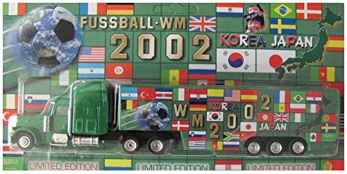 Fußball WM 2002 Nr.03 - Flaggen - Peterbilt - US Sattelzug -