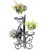 grand support m 233 tal pour pots de fleurs ou plantes meuble deco en fer forg 233 ferronerie d