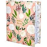 Livre de planification de mariage de luxe au Royaume-Uni - Magnifique coffret cadeau souvenir - Cadeau de fiançailles parfait pour les couples - Cadeau idéal pour un souvenir Millennial Pink