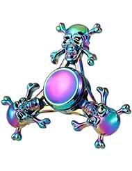 Hand Spinner Fidget Jouet, Oyedens Tri Fidget Hand Spinner Toy Pour Adultes Enfant Haute Vitesse Can Continue to Rotate for 1-3 minutes Réducteur De Contrainte et ennui