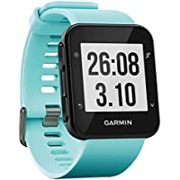 Garmin Forerunner 35 GPS Running Watch with Wrist-Based Heart Rate and Workouts - Frost Blue
