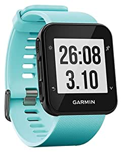 Garmin 010-01689-02 Forerunner 35 GPS Running Watch with Wrist-Based Heart Rate and Workouts - Blue (Frost Blue)
