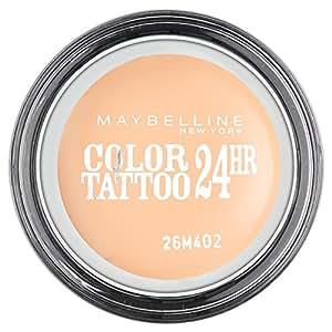 Maybelline New York Color Tattoo - Ombre à Paupières - Beige 93 - Crème de Nude