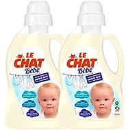 Le Chat Bébé Lessive Liquide 50 Lavages 1,5 L - Carton de 2