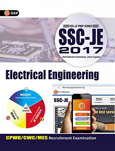 SSC - JE 2017 - Electrical Engineering : CPWD / CWC / MES Recruitment Examination Tenth Edition price comparison at Flipkart, Amazon, Crossword, Uread, Bookadda, Landmark, Homeshop18