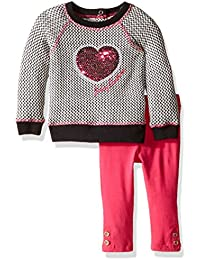 Juicy Couture Baby Girls' Sweater Tunic with Solid Legging Set