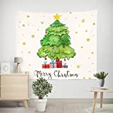 X&Y Hanging Cloth Christmas Background Wall Decoration Tapestry Living Room Bedroom Wall Hanging Towels 150 * 210cm , d