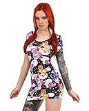 Liquor Brand - Damen Kleid - Einhorn Pegasus (Multicolor) (S-L) (M)