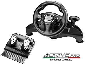 Subsonic Driver PRO Racing Wheel Volant Console compatible Sony PlayStation 3