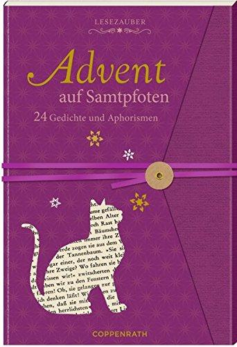 Briefbuch - Advent auf Samtpfoten: 24 Gedichte und Aphorismen