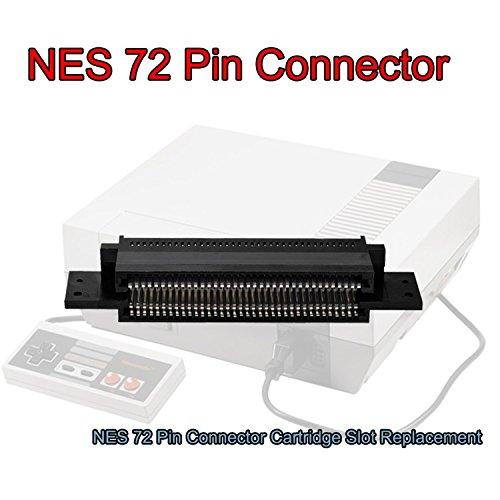 Anschluss Patrone Slot Für 8 Bit Nintendo Nes Entertainment-System ()