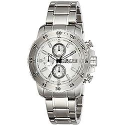 Invicta 21570 - Reloj de cuarzo para hombres, color plata
