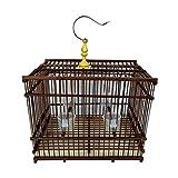 Liangzishop Cage à Oiseaux matérielle créative et respectueuse de l'Environnement Cage à Oiseaux Perle rectangulaire Perroquet perlé pour la Reproduction d'Oiseaux