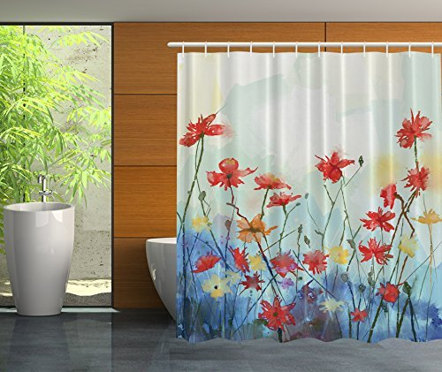 mejor-cortinas-69-inch-by-70-inch-daisy-poppy-cortina-de-ducha-de-impresion-digital