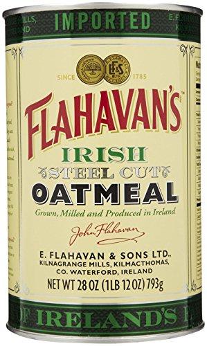 Flahavans Irish Steel Cut Oatmeal Tin, 526.16g