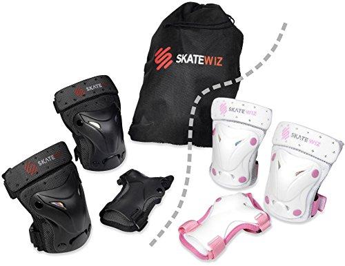 SKATEWIZ Protect-1 Schutzausrüstung Größe M in SCHWARZ