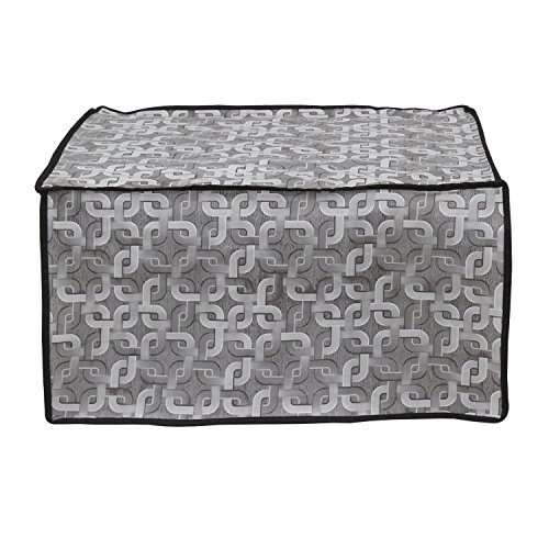 Lithara Silver Colored Printed Microwave Oven Cover for Whirlpool Magicook-20BC 20 ltr  available at amazon for Rs.399