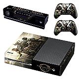 The Elder Scrolls ONLINE Skyrim Xbox One Skin Sticker Vinyl Aufkleber Schutzfolie zum Konsole & 2 Controller NEU