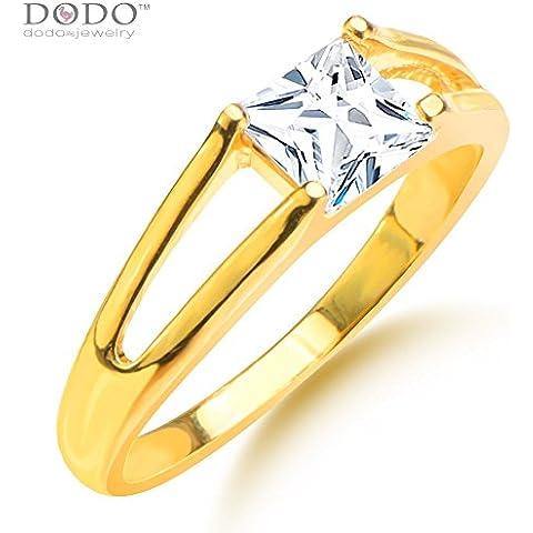 Luxury Hollow Ziron Ring Men/Women Gift 18k