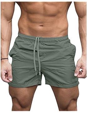 cheyuan Pantalones Cortos De Natación De La Natación del Boxeador De Los Hombres Pantalones Cortos De La Natación...