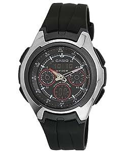 Casio Youth Stopwatch Analog-Digital Black Dial Men's Watch - AQ-163W-1B2VDF (AD103)