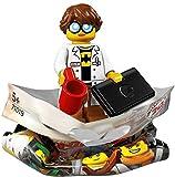 Lego Film Ninjago TM 71019Complete Series con Tous Les 20Personaggi Vari, Inoltre, Ogni 2Galaxyarms sai, Katane Doppia Lama Épées en o Argento e Selezione di omini da Singolo con 1x