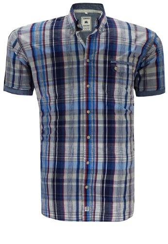 Lerros Herren Hemd Blau