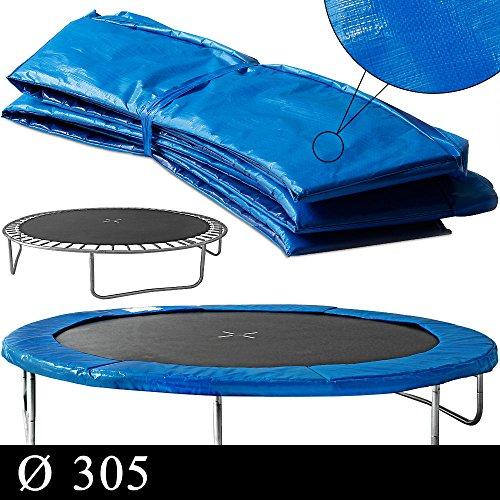 Coussin de protection des ressorts 305cm PVC bleu