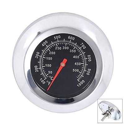qiorange Grill BBQ Pit Smoker Grill Thermometer Temp Gauge