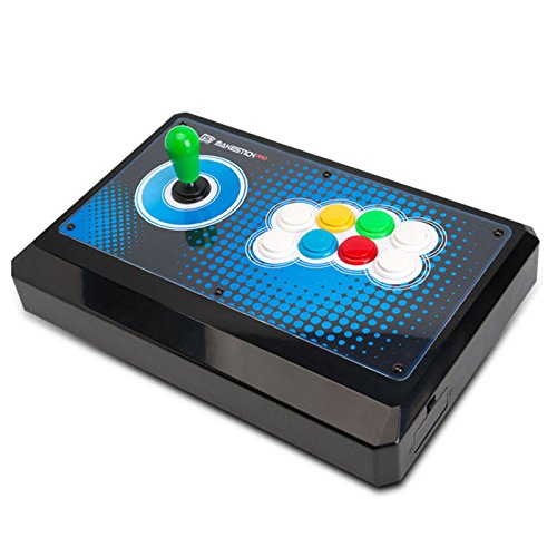 IST makestick Pro Gaming Gadget Arcade Joystick Controller PS3/PC für Fighting Game (Airback Hebel, obsf Sanwa-Tasten) (Pro-gaming-controller Ps3)