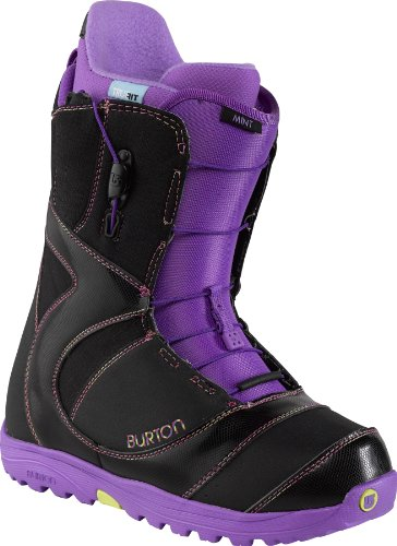 Burton Damen Snowboardschuhe Snowboard Boots Mint 10627100, mehrfarbig (Black/Multi), US 7.5/EU 38.5 7.5 Snowboard-boots