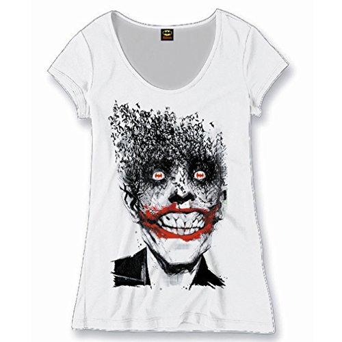 Batman - Camiseta - para mujer blanco Large