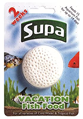 Supa Vacation Fish Food, 14 Days, Pack of 6