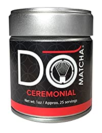 DoMatcha Green Tea, Ceremonial Matcha, 1oz Tin