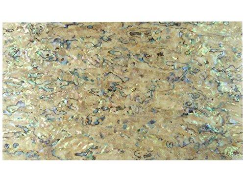 incudo Precision IN031Perlmuttlaminat, Schale, Furnier, Schwarz Braune Abalone Pack of 1 Brown Abalone