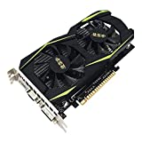 fengwen66 Grafikkarte für NVIDIA für GeForce GTS450 4 GB DDR5 128Bit-Grafikkarte (Schwarz)