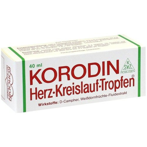Korodin Herz Kreislauf Tr 40 ml - 2 Mg 60 Tabletten