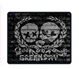Green Day UNO Dos TRE 8.66 X 7.09 Inch Computer Mouse Pad with Neoprene Backing and Jersey Surface