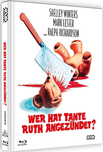 Wer hat Tante Ruth angezündet? - Whoever Slew Auntie Roo? [Blu-Ray+DVD] - uncut - auf 222 limitiertes Mediabook Cover B [Limited Collector's Edition]