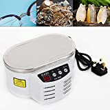 LED Display Ultrasonic Jewelry Cleaner Machine Professional Cleaning Machine for Polishing Jewelry, Rings