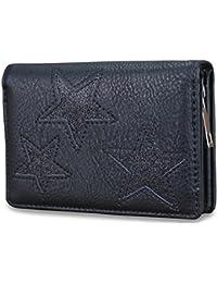 33f8702659e6b4 Damen Luxus Glitzer Stern Geldbörse Geldbeutel Brieftasche Portemonnaie  Damenbörse Börse