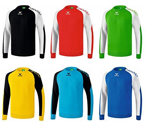 Erima York Handball Torwart Pullover Schwarz Rot Grün Blau Gelb, Grösse:M;Farben:Gelb