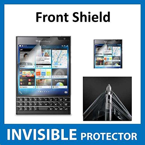 Blackberry Passport Displayschutzfolie Vorderseite unsichtbar Folie (vor Shield) Military Grade Schutz Exklusive zu Ace Fall (Blackberry Passport-klarer Fall)