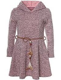 BEZLIT Mädchen Kleid Kapuze Langarm 21578