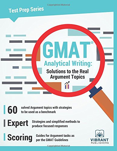 gmat analytical writing Take practice timed essays using 800scorecom's essay grading service.